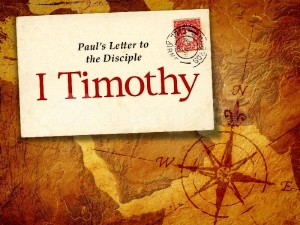 1 timothy -1